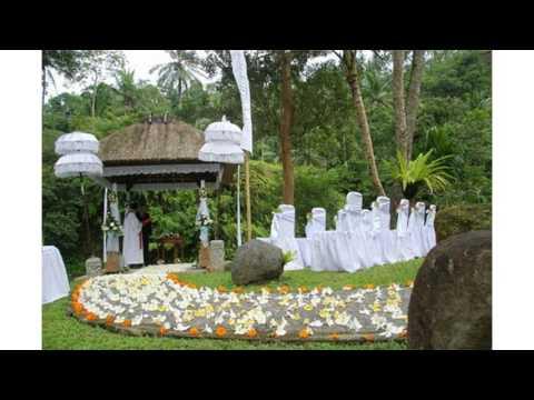 Petit mariage de jardin