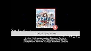 Gambar cover BanG Dream! - Poppin'Party - 1000 Crying Skies (Expert Full Combo) [60fps]