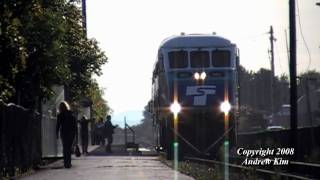 SDRX 903 East Leads Sounder Commuter Train #1700