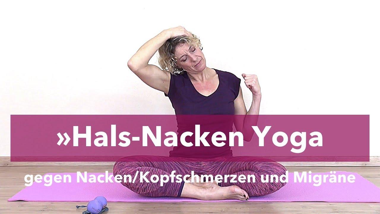 hals nacken verspannung yoga bungen gegen. Black Bedroom Furniture Sets. Home Design Ideas