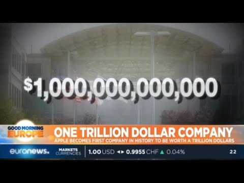 One Trillion Dollars: Apple becomes first company in history to be worth a trillion dollars