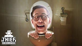 Die FALSCHE Toilette | Einbrecher Simulator