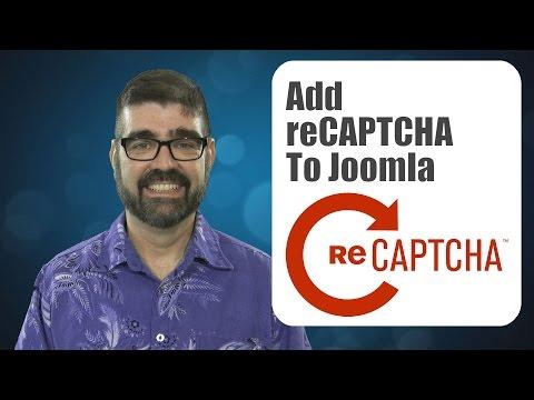 How To Add Google's ReCAPTCHA Service To Joomla