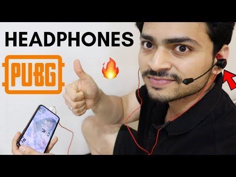 PUBG Headphones With Detachable Mic | Gaming Headphones | Tech Unboxing 🔥
