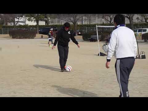 ブラインドサッカー体験 MIXSENSE名古屋 安城 JOANスポーツクラブ2019年2月10日開催