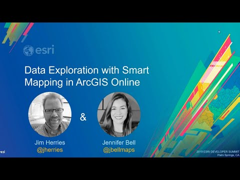 Data Exploration With Smart Mapping In ArcGIS Online