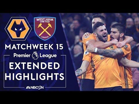 Wolves v. West Ham United | PREMIER LEAGUE HIGHLIGHTS | 12/04/19 | NBC Sports