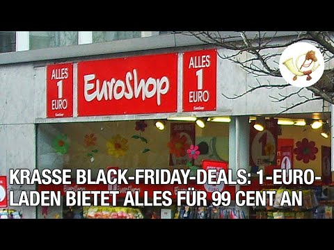 Krasse Black-Friday-Deals: 1-Euro-Laden bietet alles für 99 Cent an