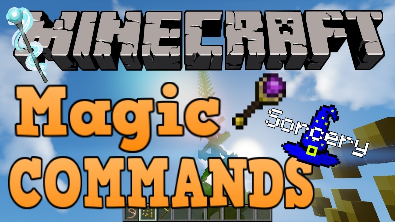 Minecraft Bedrock Edition Spells Command Block Tutorial Creation