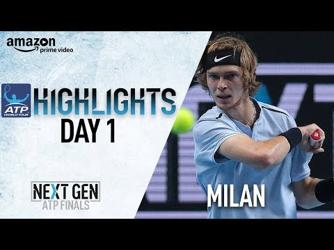 Highlights: Rublev Survives Tough Quinzi Test In Milan