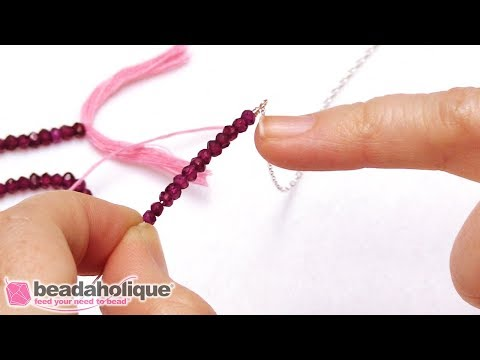 How to Make a Delicate Gemstone Bar Necklace