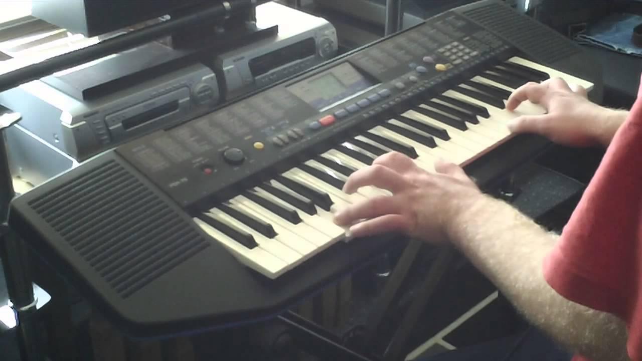 Yamaha psr 78 keyboard 100 sounds features part 2 2 for Yamaha keyboard parts