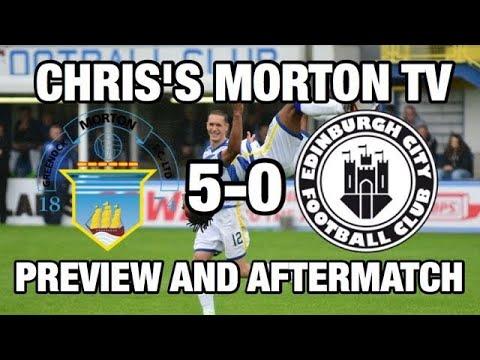 Morton preview and after Morton v Edinburgh City