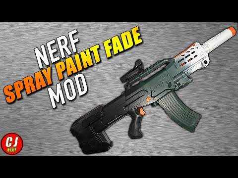 [Nerf Gun Mods] Nerf Zombie Strike Longshot Mod & Paint Job