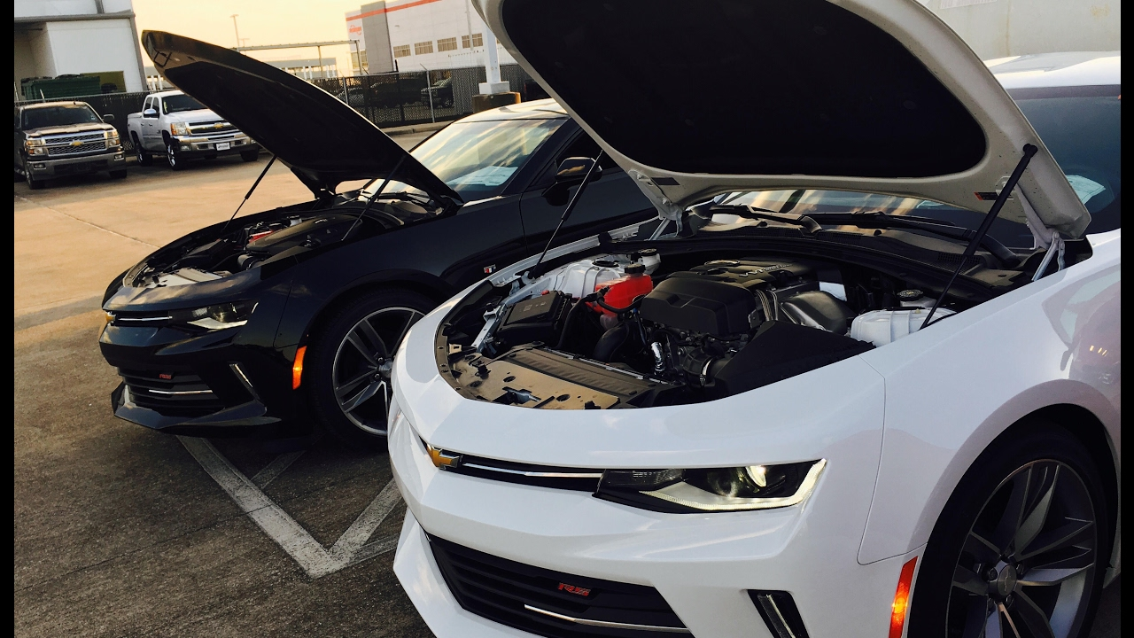 2 0 Turbo 4cyl Vs 3 6l V6 2017 Chevrolet Camaro