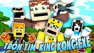 ️cÙng ChƠi TrỐn TÌm VỚi Kingkong Exe Ft Mèo Simmy Mk Gaming Jackvn Minecraft TrỐn TÌm