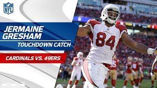 Adrian Peterson's Big Plays Sets Up Jermaine Gresham's TD Grab! | Cardinals vs. 49ers | NFL Wk 9