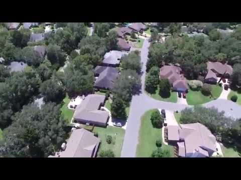 Niceville's Bluewater Bay Florida Aerial Video - DJI P3A 2xSpeed