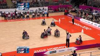 Wheelchair Rugby - Mixed - Bronze Medal - USA versus JPN - London 2012 Paralympic Games