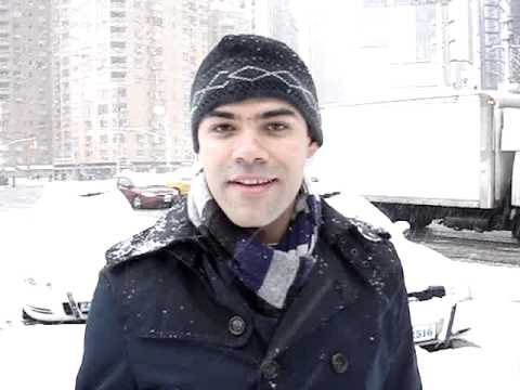 SNOW STORM NEW YORK CITY- FEBRUARY 10th 2010 - MILTON MONTEIRO