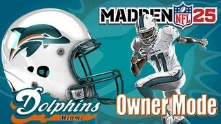 Madden 25- Miami Dolphins Owner Mode- Year 1 Week 3 Vs. Atlanta Falcons  (Ep.4)