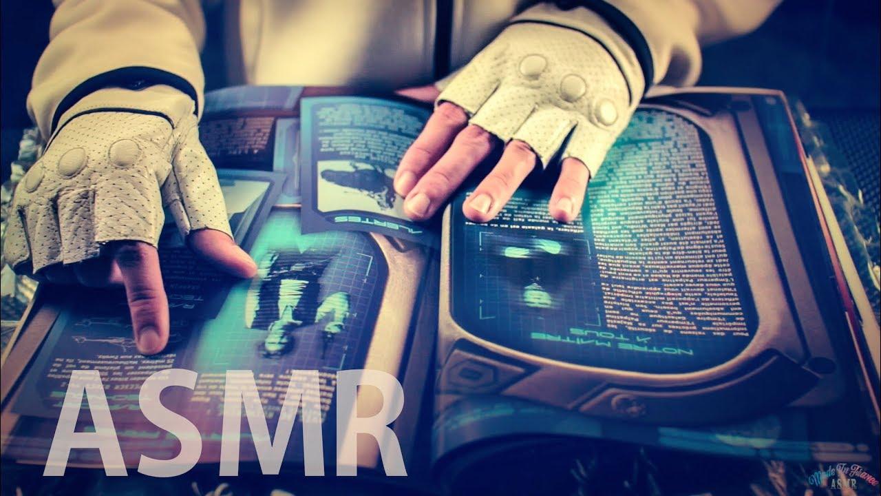 ASMR Page Turning / Flipping Magazines