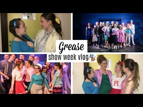 GREASE SHOW WEEK VLOG! | ABBY ♡