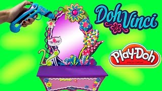 Play Doh Vinci Style And Store Vanity Set Diy Dohvinci Schminktish Tocador How To Use Dohvinci