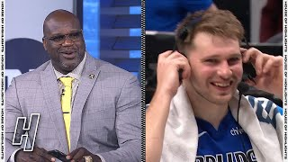 Shaq Tries to Say Goodbye to Luka Doncic in Slovenian - Inside the NBA | April 22, 2021