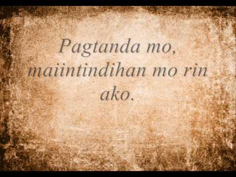 Sa Aking Pagtanda (Sulat ni Nanay at Tatay)