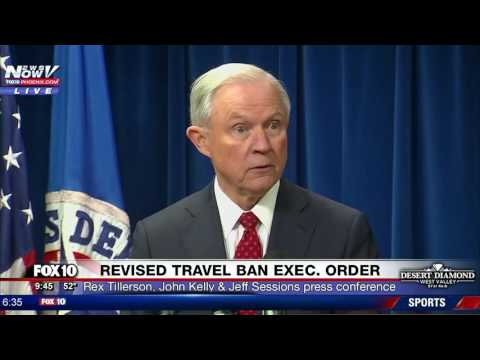 FNN: Trump Signs NEW Executive Order - Revised Travel Ban - PRESS CONFERENCE