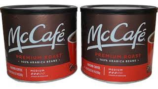 Coffee MUST SEE Amazon Best Seller Reviews ! McCafé Colombian Ground Coffee, 30 oz Canister