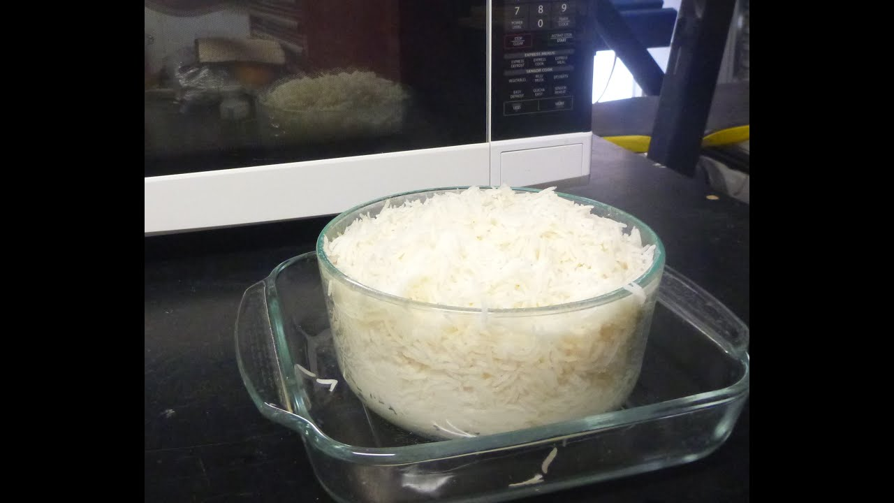 Cook Rice In The Microwave Absorption Method Youtube