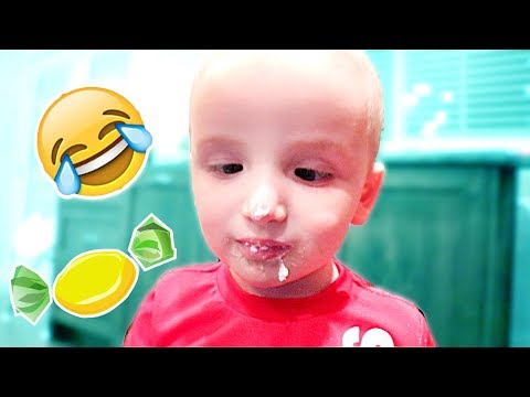 Toddler Eats Too Much Candy?!