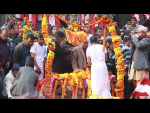 Funeral of  Sushil Koirala at Pashupatinath | Daily Exclusive News ( Media Np TV)