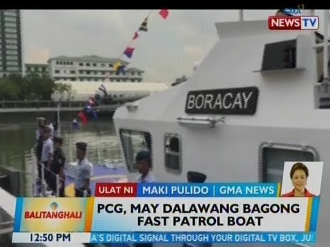 BT: PCG, may 2 bagong fast patrol boat