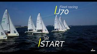 新西宮ヨットハーバー:J70 Fleet racing 3R with Drone
