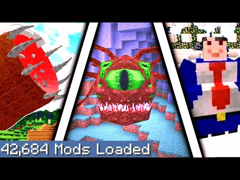 Minecraft But I Downloaded Every Single Mod Again 5...
