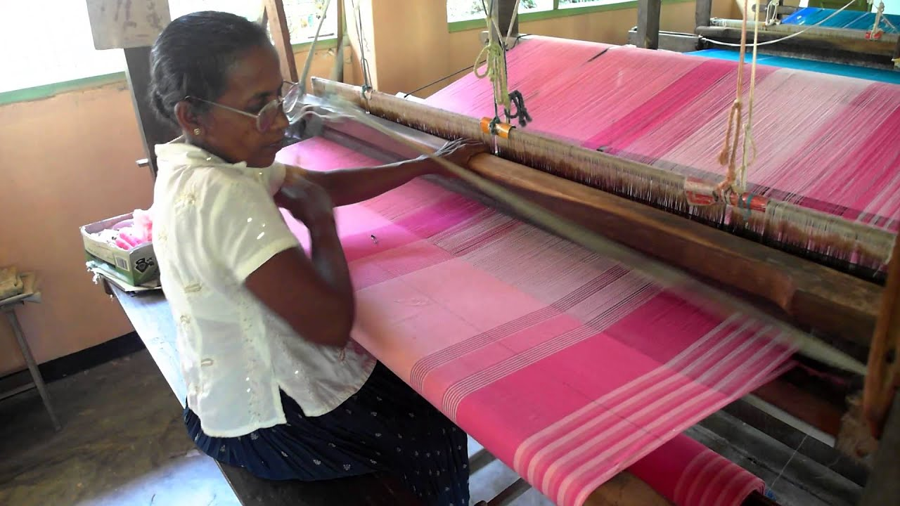 Weaving weberei sri lanka ahangama eliketiya youtube - Sri lankan passport office in colombo ...