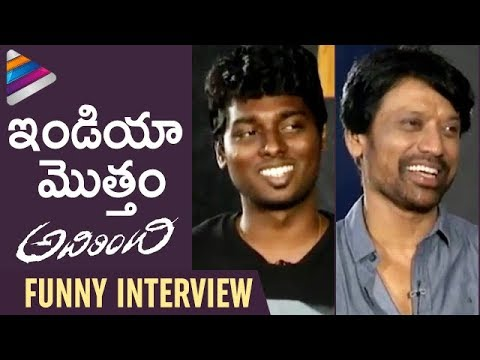SJ Surya & Atlee Funny Interview   Adhirindhi Telugu Movie   Vijay   Samantha   Kajal   Nithya Menen