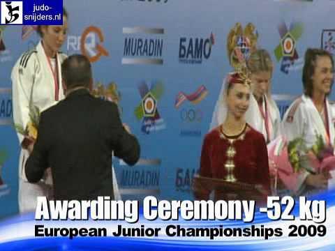 Judo 2009 Yerevan: Awarding [-52kg].