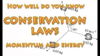 How well do you know Conservation Laws