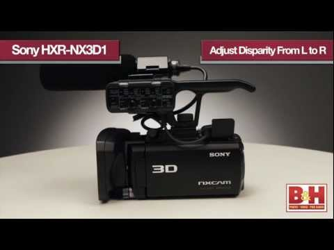 Sony HXR-NX3D1 3D Camcorder