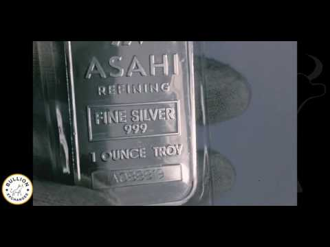 1 Oz Asahi Silver Bar Sealed (.999 Fine)
