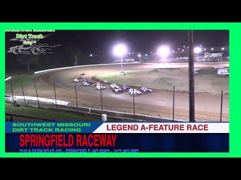 Legend A Feature Races Springfield Raceway September 2, 2017