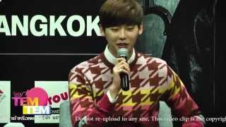 141031 Lee Jong Suk Asia Tour Fan Meeting in Thailand Press Conference 2/2