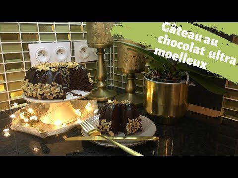 recette-gâteau-au-chocolat-ultra-moelleux-💕-وصفة-أفخم-كيكة-بالشكلاطة-بألذ-و-أروع-صلصة-بالشكلاطة