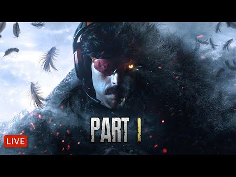 🔴LIVE - 9ft6 DIMITRESCU VS 6ft8 DrDisrespect - Resident Evil Playthrough - Part 1
