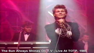 a-ha 1985 Tv Show : Top Of The Pop Song : The Sun Always Shines On ...