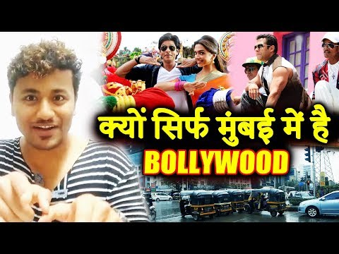 Why Is Bollywood, A Hindi Movie Industry, Based In Mumbai?
